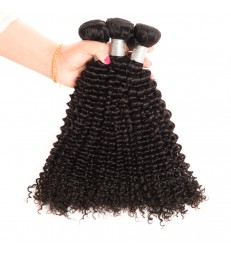 Brazilian virgin curly texture 8A grade weft--[MCW920]