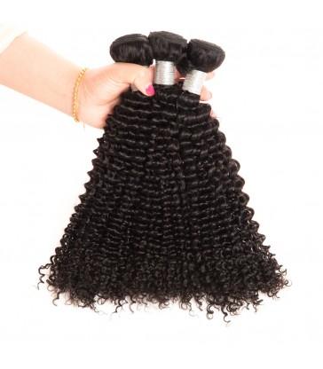 Brazilian virgin curly texture 8A grade weft--[MCW919]