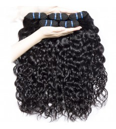 Brazilian virgin water wave 8A grade weft--[MCW921]
