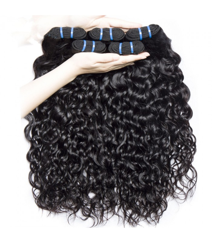 Brazilian virgin water wave 8A grade weft--[MCW920]