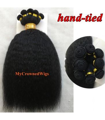 Brazilian virgin Italian yaki hand-tied weft--[MCW923]