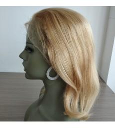 On Sale---Brazilian virgin 613 color blonde lace front bob--[BB001]