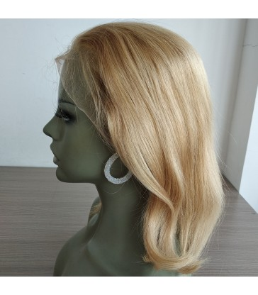 On Sale---Brazilian virgin 613 color blonde bob--[BB001]