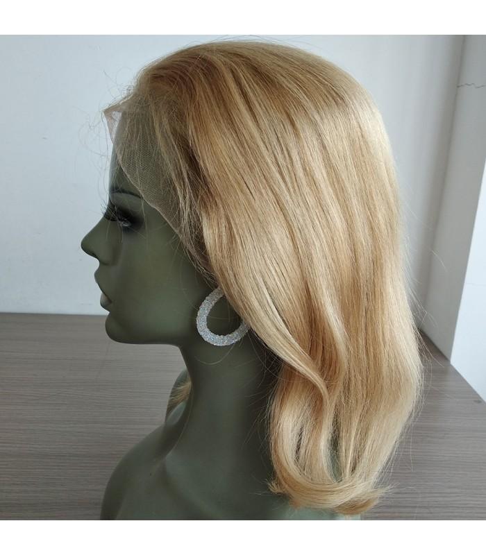On Sale---Brazilian virgin 613 color blonde bob--[BB001]