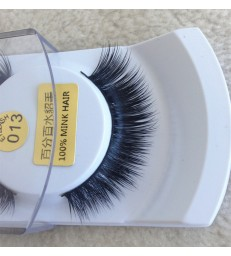 2 Pair 100% Mink Hair Long False Eyelashes [MCW926]