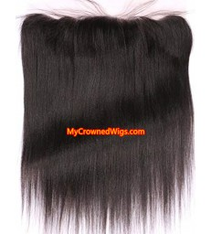 13*4 brazilian virgin light yaki lace frontal--[MCW932]
