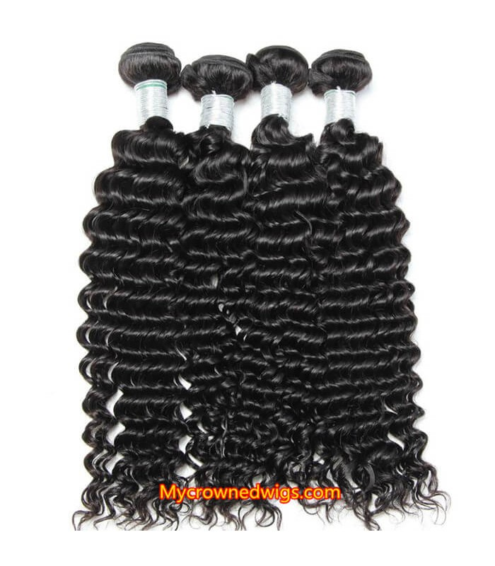Brazilian virgin Spanish curl 8A grade weft--[MCW934]
