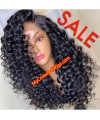 5*5 undetectable spiral curly HD lace closure human hair wig【hcw360】