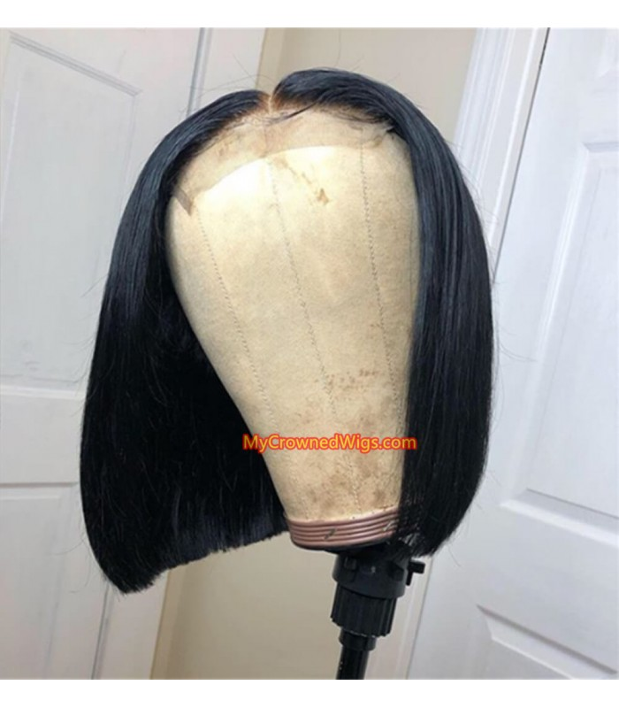 4*4 Lace Closure Bob Brazilian Virgin Hair