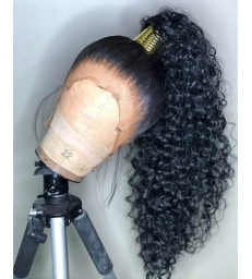 Goddess Wave Lace Front Brazilian Virgin human Hair [lf005]