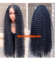 Deep Wave 360 Lace Wig Brazilian Virgin Hair -[MCW359]