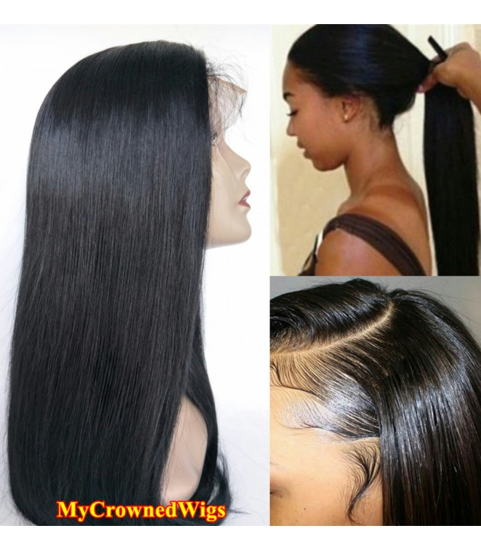 ... Brazilian virgin silk straight bleached knots full lace wig- mcw001  e99e7e881