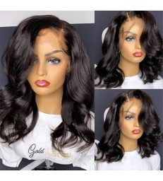 On Sale---Brazilian virgin long wavy 360 wigs with pre plucked hairline--[MCWCC2]