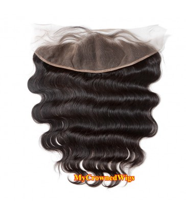13*4 brazilian virgin body wave lace frontal--[MCW902]