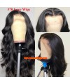 Loose wave 370 lace front human hair wig pre plucked with baby hair long deep parting【MCW374】