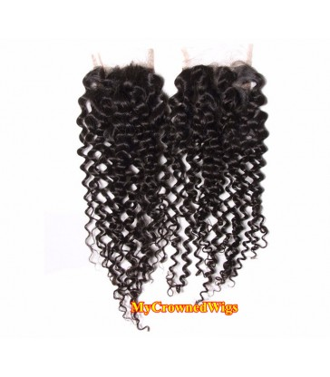 brazilian virgin body wave 4*4 lace closure--[MCW904]