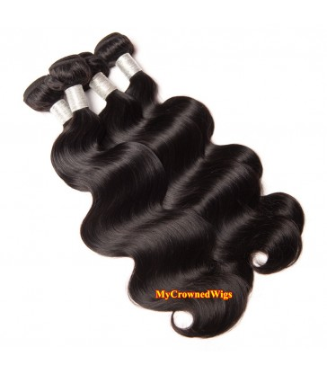 Brazilian virgin body wave 8A grade weft--[MCW905]