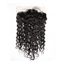 13*4 brazilian virgin wet wave lace frontal--[MCW908]