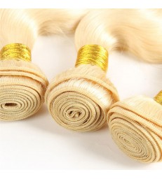 613 Brazilian Body Wave Bundles Virgin Hair 3 Bundles High-Quality Extension [BW001]
