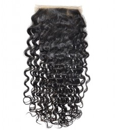 brazilian virgin wet wave silk based closure--[MCW910]