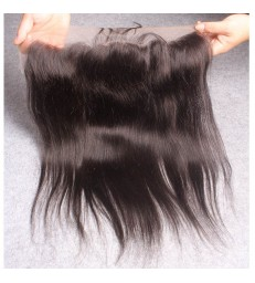 13*4 brazilian virgin silky straight lace frontal--[MCW913]