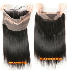 Brazilian virgin silky straight 360 lace frontal--[MCW914]