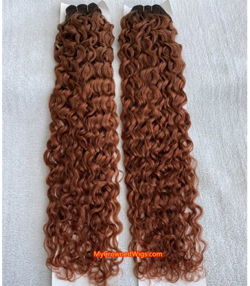 2 bundles ombre color virgin human hair wefts [BC001]