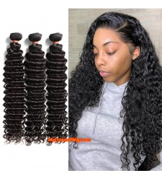 Brazilian virgin deep wave 8A grade weft--[MCW919]
