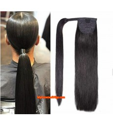 PONYTAIL PIECE STRAIGHT BRAZILIAN VIRGIN HAIR【MCW930】