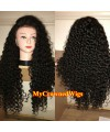 Brazilian virgin spanish curl bleached knots full lace wig-[mcw268]