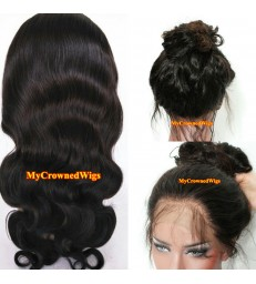 Brazilian virgin body wave 360 frontal wig -[MCW367]