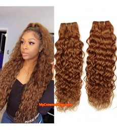 In Stock---2 bundles ombre color virgin human hair wefts [BC001]