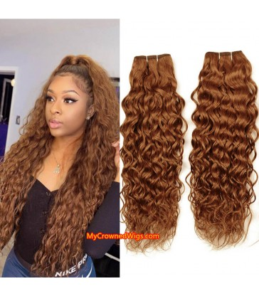 2 bundles ombre color virgin human hair wefts [BC001]