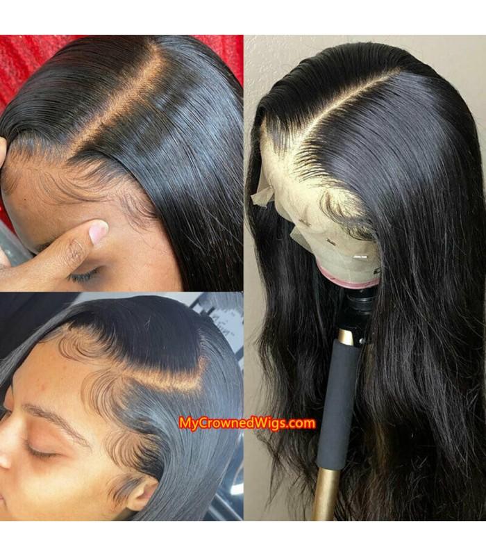 Brazilian Virgin Glueless Silk Top 13*6 Lace Front Wig [LFS001]