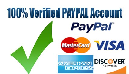 Paypal,Money100% Safe!