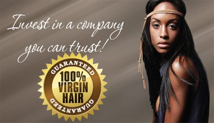 100% Virgin human hair guarantee
